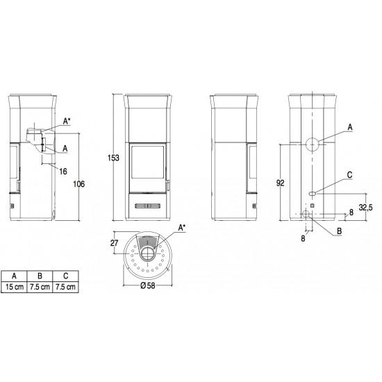 Піч Piazzetta E929 T Hermetic BCS