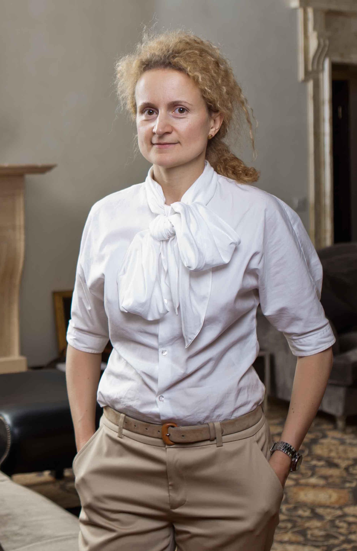 Ольга Гончар, портрет архітектора